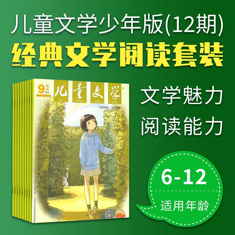《阅读计划》6-12岁学生语文素养及文学经典套装(儿童文学少年版12期+12册图书)