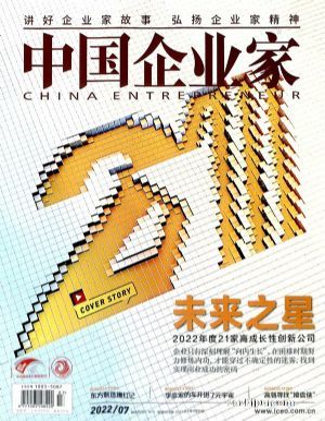 中國企業家(1年共12期)(雜志訂閱)