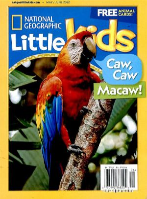 美千仞�然�D身����家地理幼�喊�3-6�q(英文原版)National Geographic  Little Kids(1年共6期)(�s�I��)