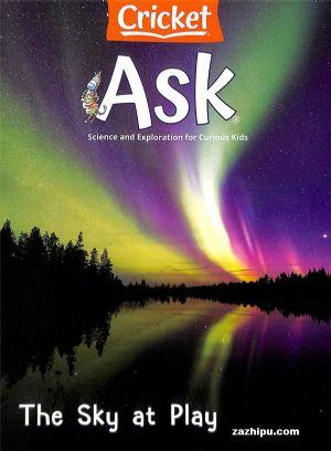 Ask(千奇百��)(一年共9期)(英文原版)