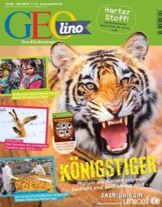 GEO lino(Ger)8-14岁地球画刊(德文)(1年共12期)(杂志订阅)
