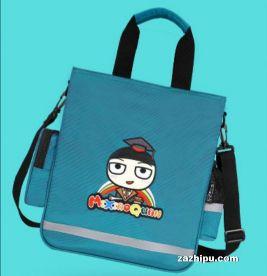 米小圈文具补习袋书包 七彩童年补课袋 蓝色