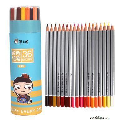 米小圈文具 多彩生活彩色铅笔